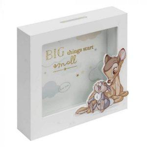 Disney Bambi Money Box Big Things Start Small
