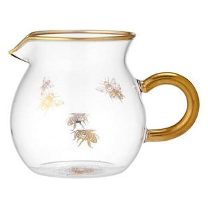 Ashdene Honey Bee Glass Creamer