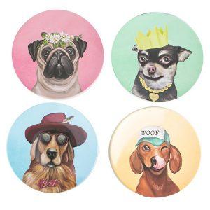 Canine Cuties Plate Set