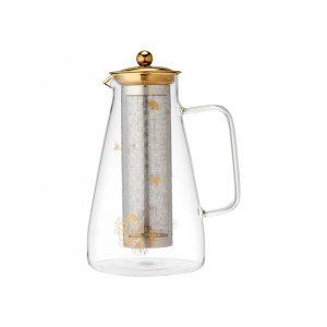 Ashdene Honey Bee Glass Infuser Jug
