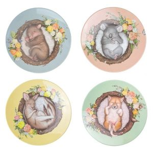 Nested Babies Plate Set
