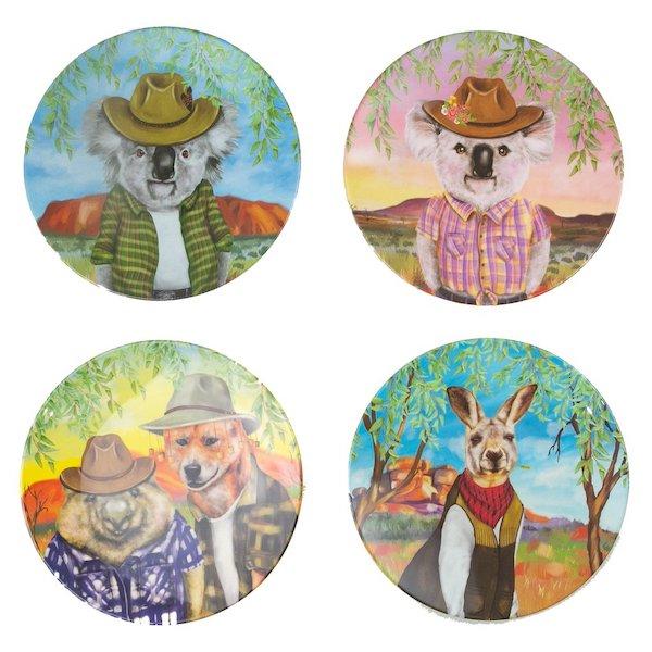 Sunny Outback Plate Set