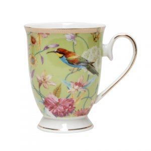 Chintz Pistachio Pedestal Mug