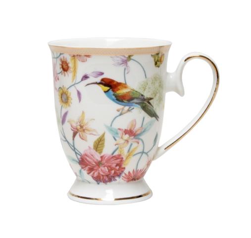 Chintz Blanc Pedestal Mug