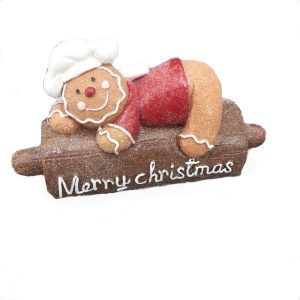 Gingerbread Chef On Rolling Pin
