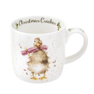 Wrendale Christmas Cracker Duck Mug