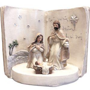 Holy Family Nativity Scene Led Light