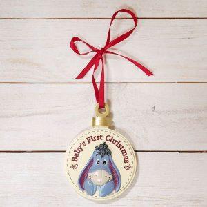 Disney Baby's First Christmas Eeyore Hanging Ornament