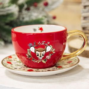 Disney Bambi Enchanted Forest Cup And Saucer