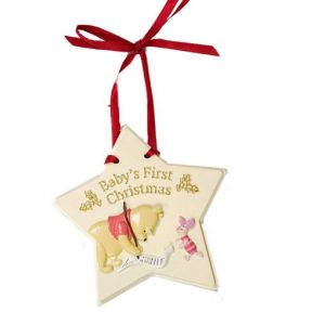 Disney Baby's First Christmas WTP Hanging Ornament