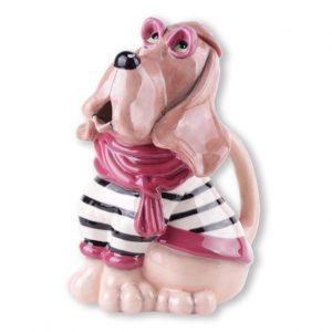 Bloodhound Ceramic Teapot