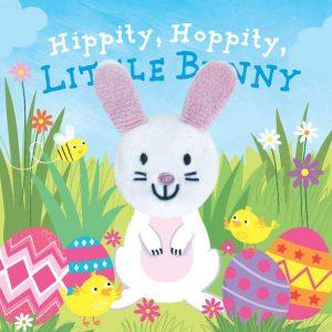 Hippity Hoppity Little Bunny Finger Puppet Book