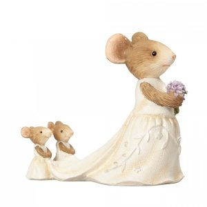 Heart of Christmas - Wee Wedding Helpers The Bride Mouse