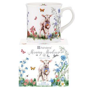 Ashdene Morning Meadows Lamb Mug