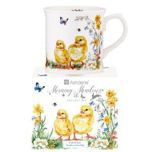 Ashdene Morning Meadows Chicks Mug