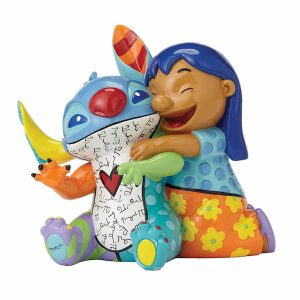 Disney Britto Lilo & Stitch Medium Figurine