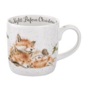 Wrendale Cristmas The Night Before Christmas Mug