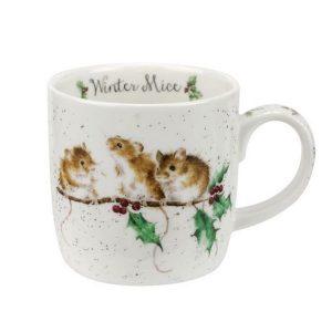Wrendale Christmas Winter Mice Mug