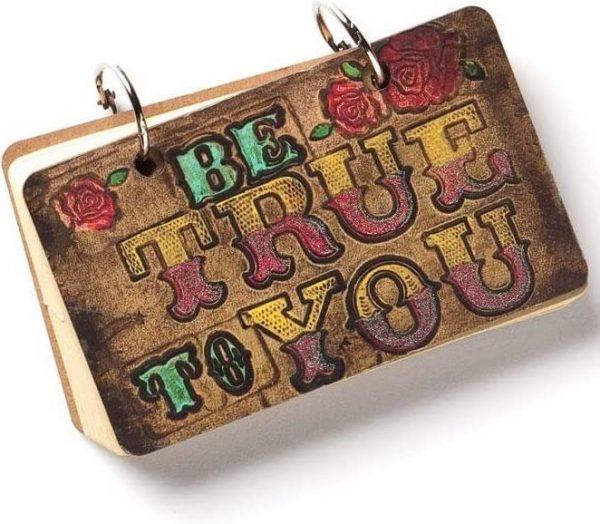 Demdaco Brave Girl Be True to You Mini Journal