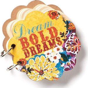 Demdaco Brave Girl Dream Bold Dreams Mini Journal