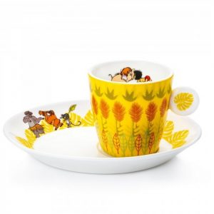 nglish Ladies Jungle Book Espresso Cup and Saucer
