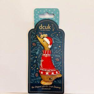 Christmas Dcuk Hanging Decoration - Nigel