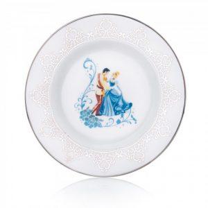 English Ladies Wedding Side Plate Cinderella