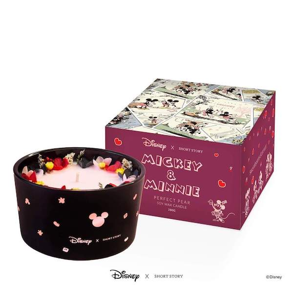 Disney X Short Story Candle - Mickey and Minnie