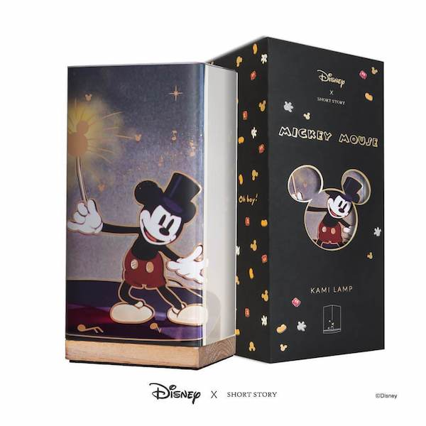 Disney X Short Story Kami Lamp - Mickey