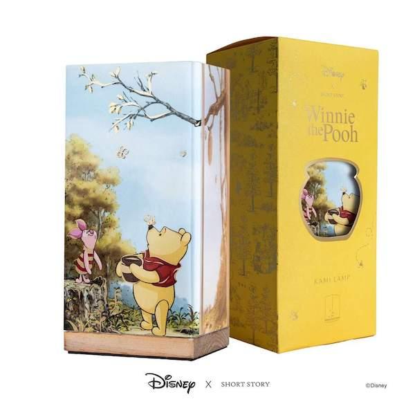 Disney X Short Story Kami Lamp - Pooh & Piglet