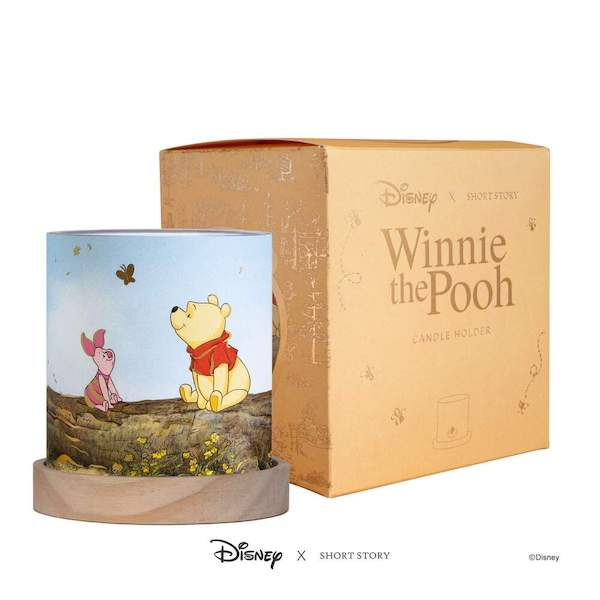 Disney X Short Story Votive Candle Holder – Pooh & Piglet