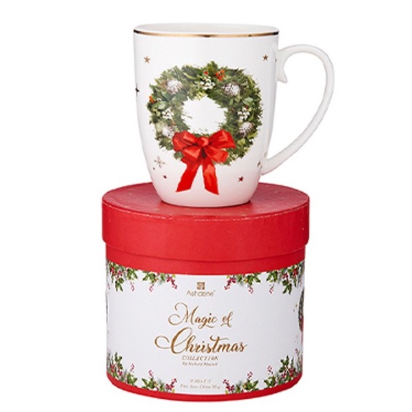Ashdene Magic Of Christmas Wreath Mug