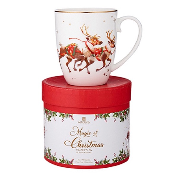 Ashdene Magic Of Christmas Reindeer Mug