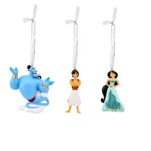 Disney Christmas Hanging Ornaments Aladdin Set