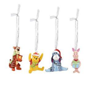 Disney Christmas Hanging Ornaments Winnie the Pooh
