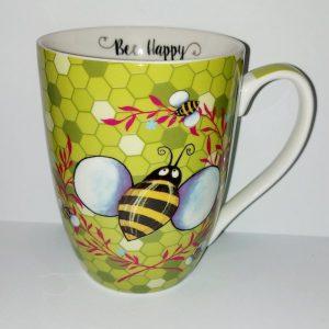 Bee Happy Mug - Green