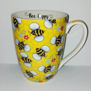 Bee Happy Mug - Yellow