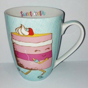 Sweet Tooth Mug - Cake