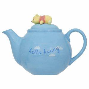 Winnie The Pooh Blue Teapot